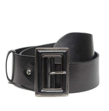 TARA WIDE LEATHER BELT - NOTTEVERA - 1
