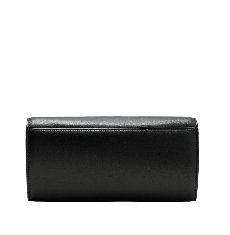 CARLA LAMBSKIN LEATHER CLUTCH - NOTTEVERA - 4
