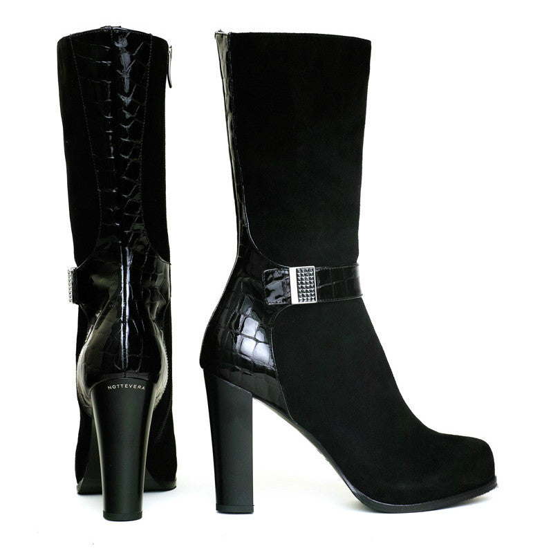 DIAMANTE SUEDE BOOT - NOTTEVERA - 1
