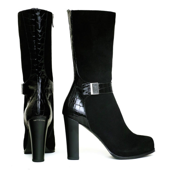 DIAMANTE SUEDE BOOT