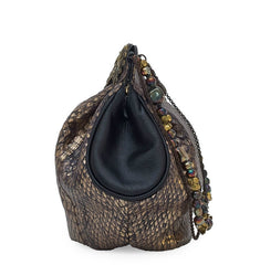 EFFIE SNAKESKIN BUCKET BAG - NOTTEVERA - 3