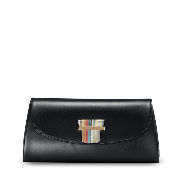 ESME CLUTCH - MATTE BLACK