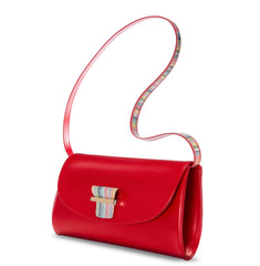 ESME CLUTCH - RUBY RED - NOTTEVERA