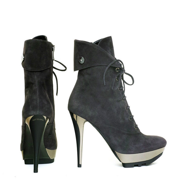 GRINTA SUEDE LACE-UP BOOT