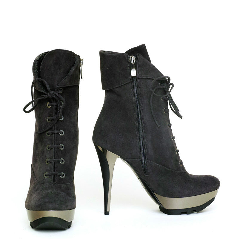 GRINTA SUEDE LACE-UP BOOT - NOTTEVERA - 2