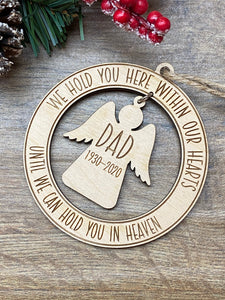 In Our Hearts - Memorial Tree Decoration