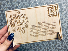 Load image into Gallery viewer, Happy Mother's Day - Personalised Greetings Card