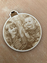 Load image into Gallery viewer, Photograph Wooden Tree Decoration