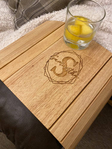 Personalised Monogram Sofa Tray