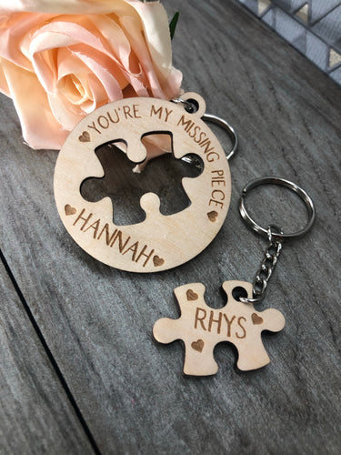 My Missing Piece - Keyring Duo