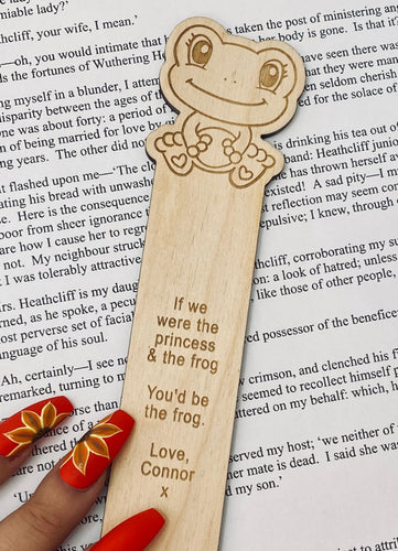 Frog Character Bookmark