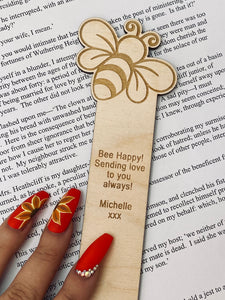 Bumble Bee Character Bookmark