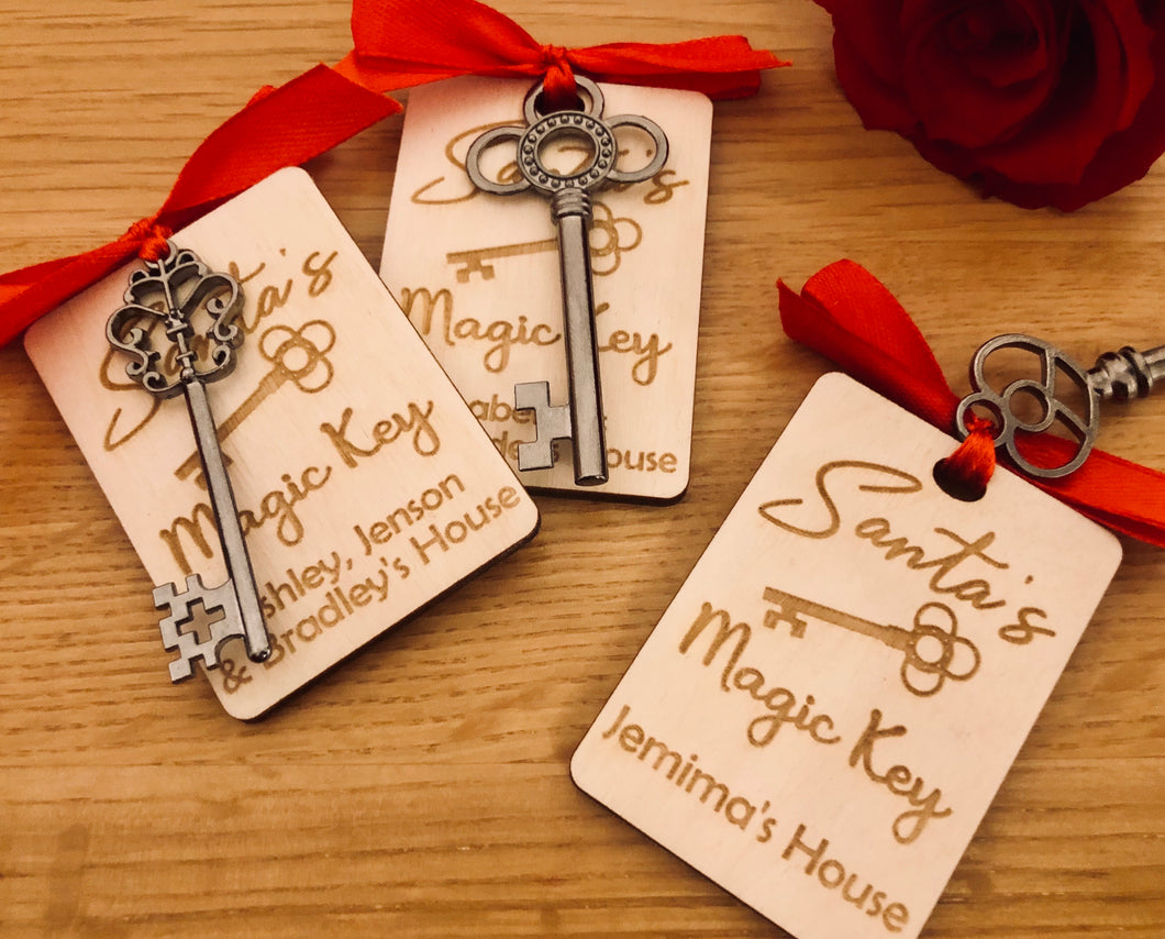 Personalised Santa Keys