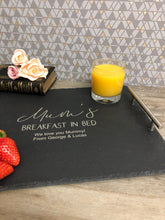 Load image into Gallery viewer, Mum's Breakfast in Bed - Slate Tray