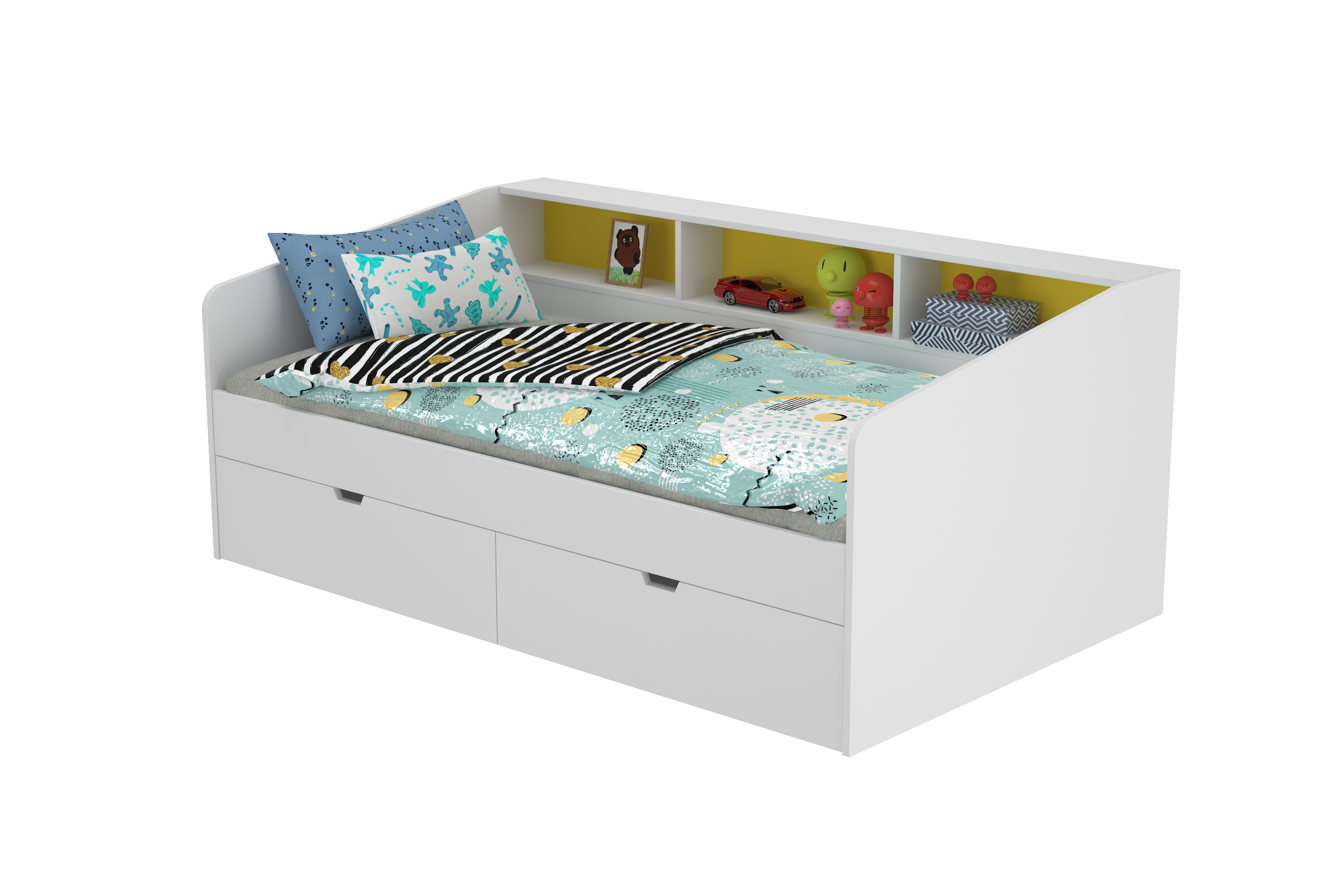 Cuckoo Single Bed with Storage