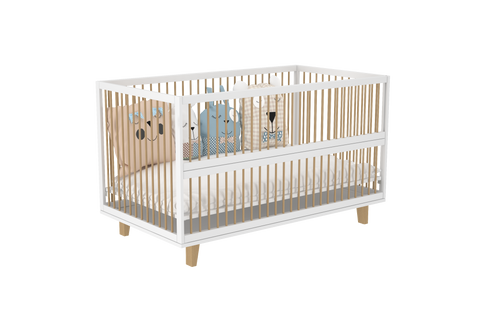 Amour Co Sleeping Crib  in White