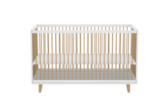 Amour Crib in White