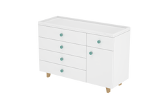 LittleBird Chest of Drawers X4 in White