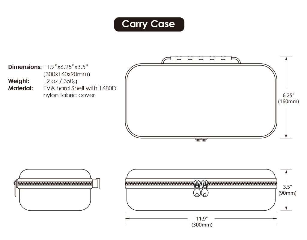 MAXCARRY CASE CRYSTAL 08