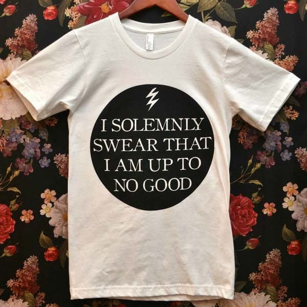 [RETIRED] 'I Solemnly Swear' Shirt [$24 value]