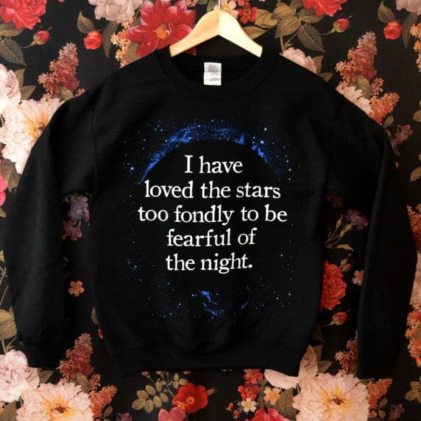 'Fearful of the Night' Sweater