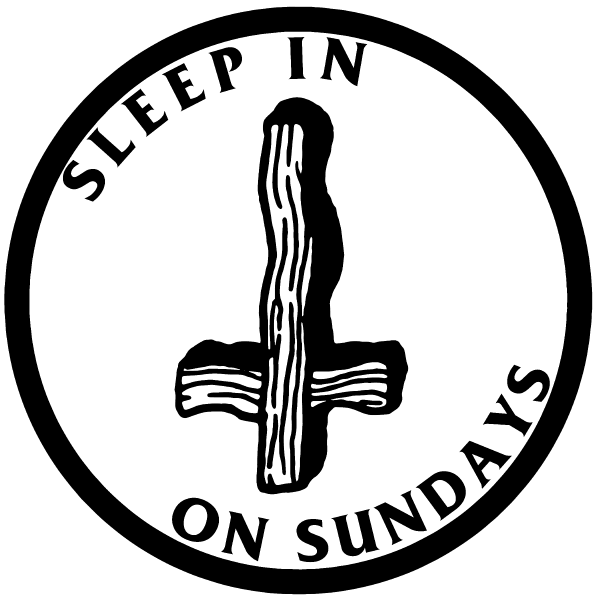 'Sleep In on Sundays' Ringer Shirt