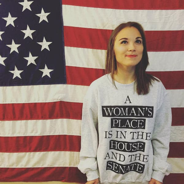 'A Woman's Place' Sweater