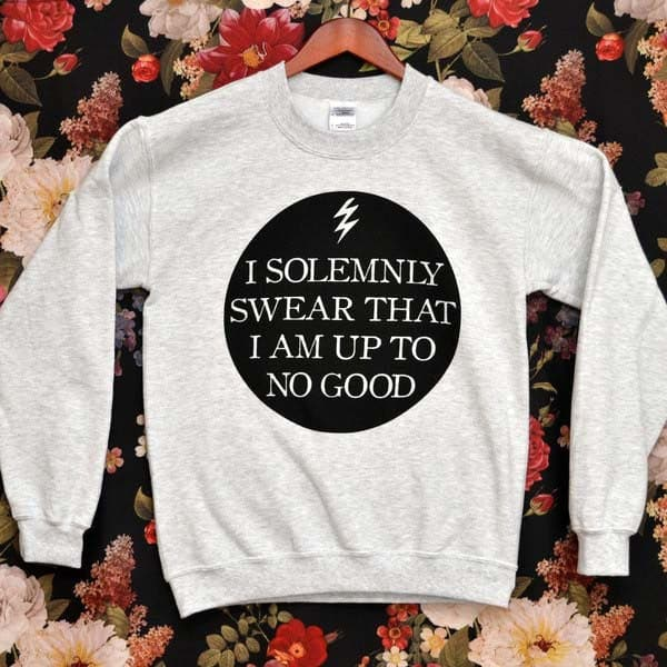 'I Solemnly Swear' Sweater