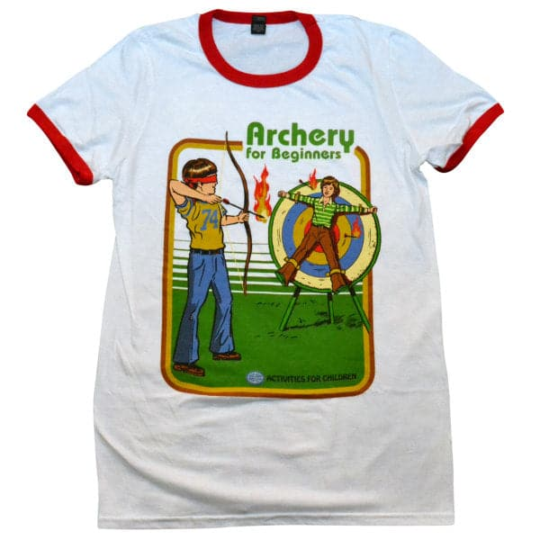 'Archery for Beginners' Ringer Shirt