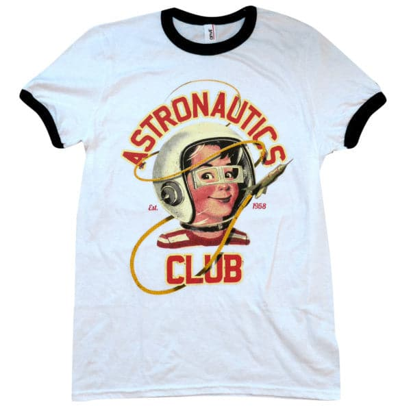 'Astronautics Club' Ringer Shirt