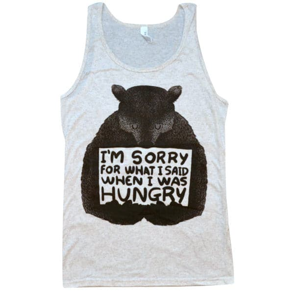 'When I Was Hungry' Tank Top
