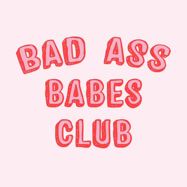 'Bad Ass Babes Club' Ringer Shirt