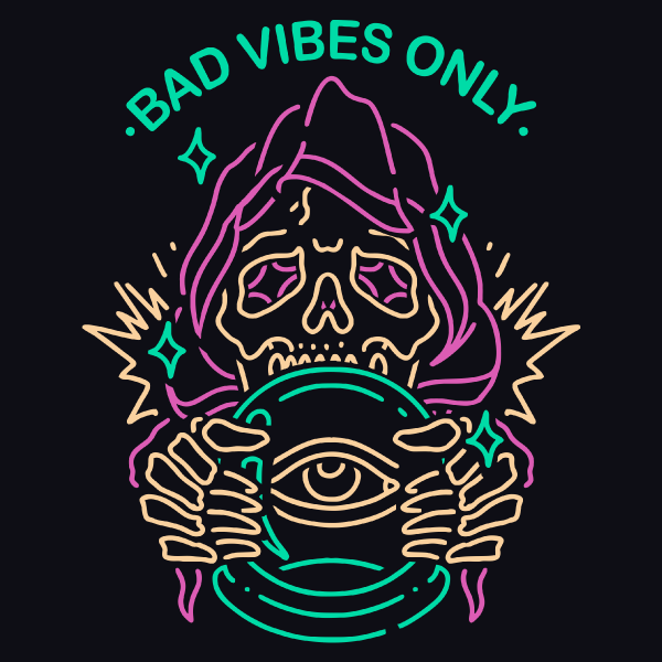 'Bad Vibes Only' Shirt