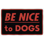 'Be Nice To Dogs' Enamel Pin