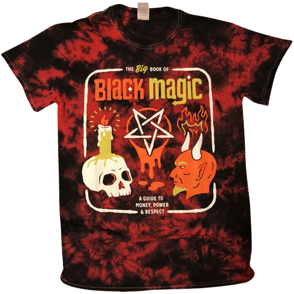 Black Magic Tie Dye Shirt