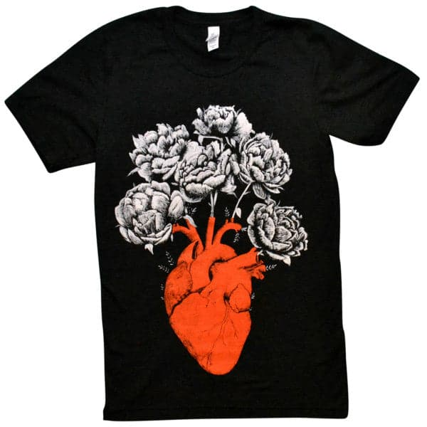 'Blooming Heart' Shirt