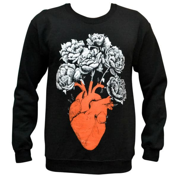 'Blooming Heart' Sweater