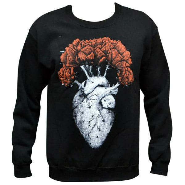 'Cactus Heart' Sweater