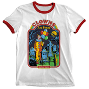 'Clowns Are Funny' Ringer Shirt