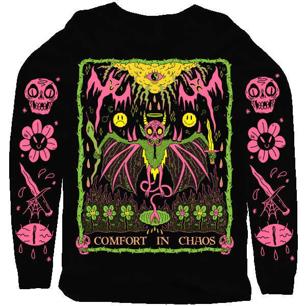 'Comfort in Chaos' Sweatshirt