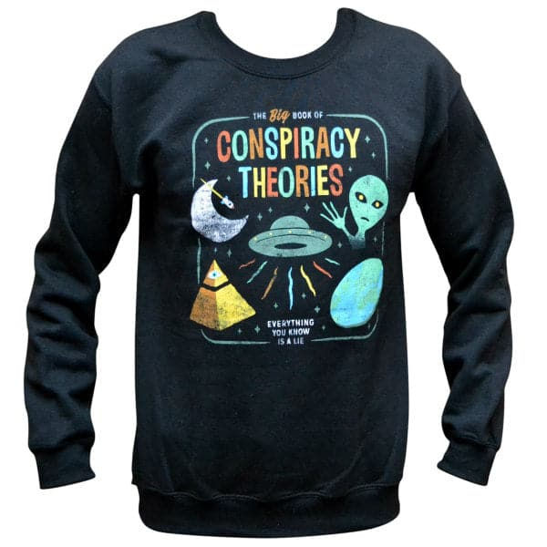 'Conspiracy Theories' Sweater
