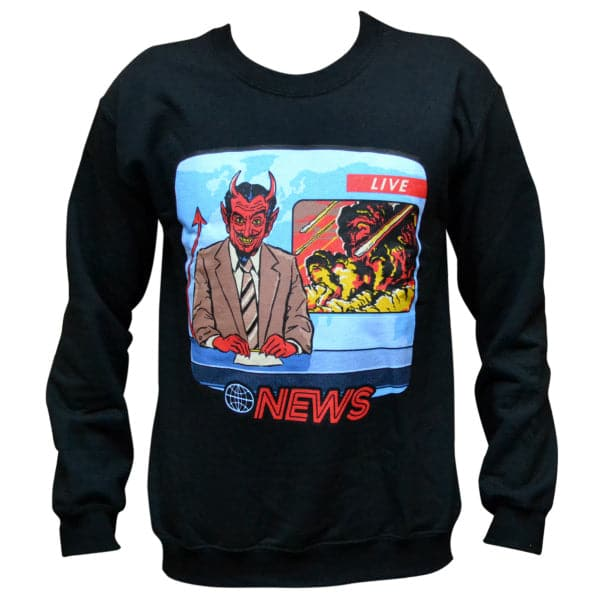 'Current Events' Sweater