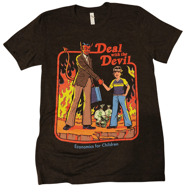 deal with the devil shirt