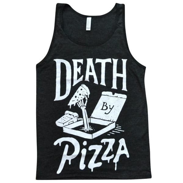 'Death By Pizza' Tank Top