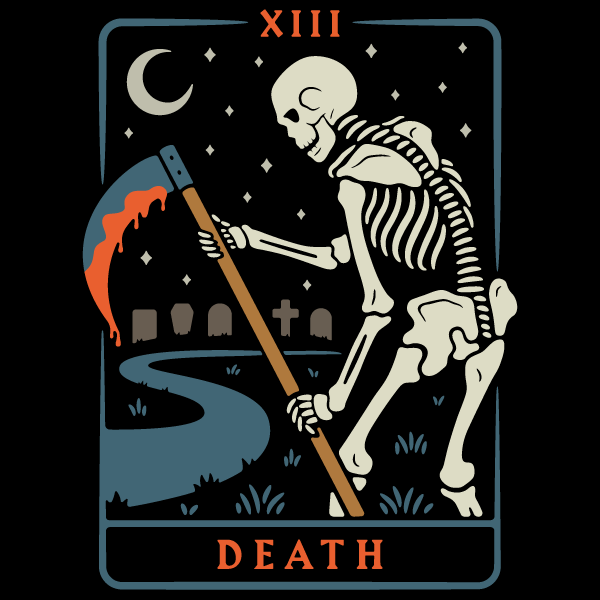 'Death Tarot' Shirt