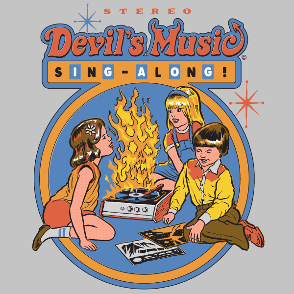 'Devil's Music' Ringer Shirt