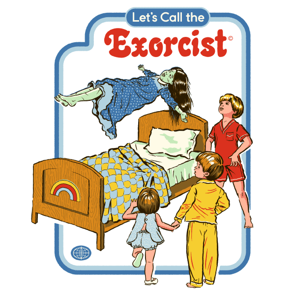 'Let's Call the Exorcist' Tie Dye Shirt