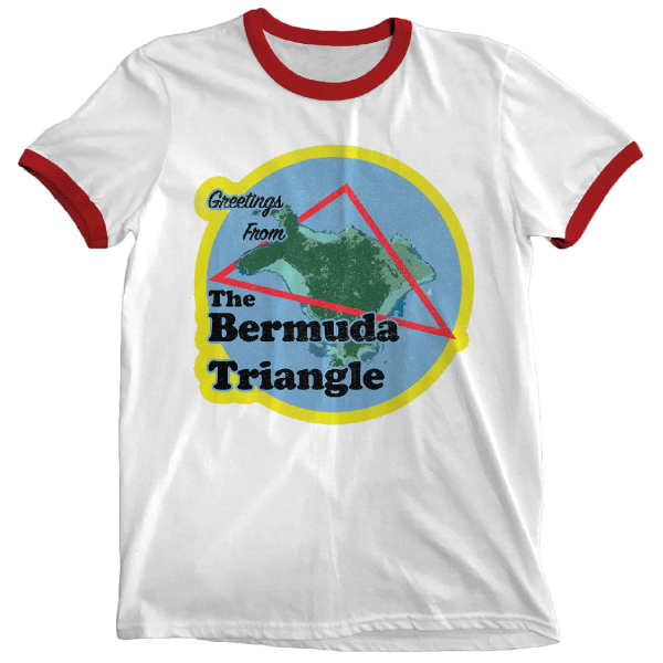 'Bermuda Triangle' Ringer Shirt
