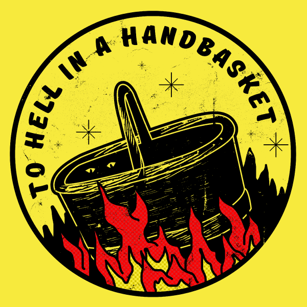 'Hell in a Handbasket' Ringer Shirt