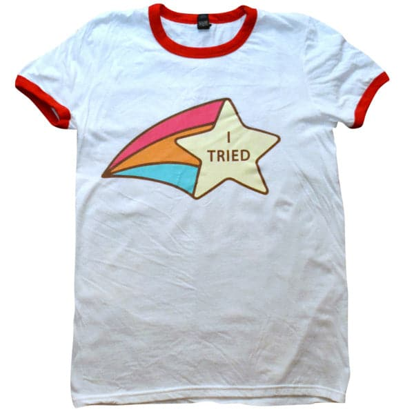 'I Tried' Ringer Shirt
